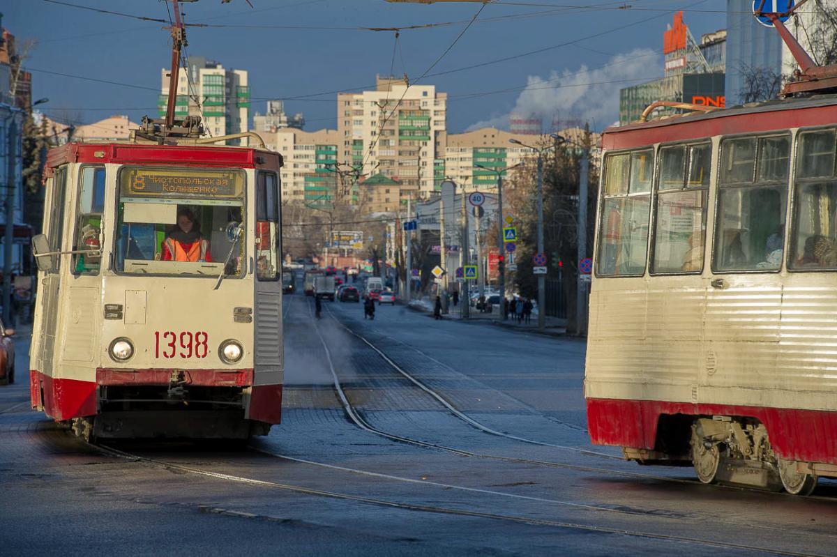 Трамваи в Челябинске