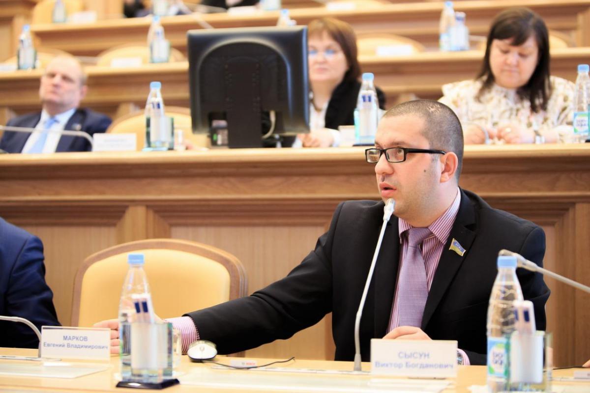 Депутат Думы ХМАО Виктор Сысун