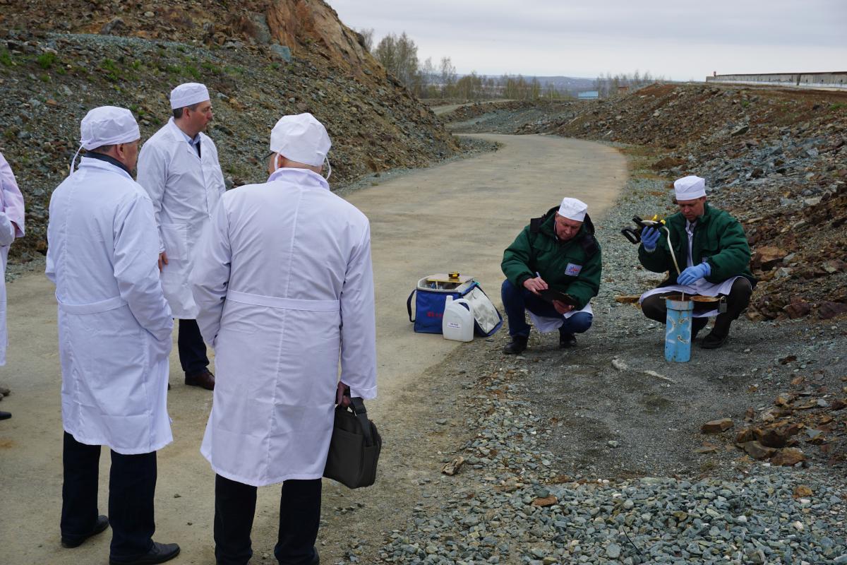 Экологический мониторинг на территории пункта финальной изоляции РАО в Новоуральске