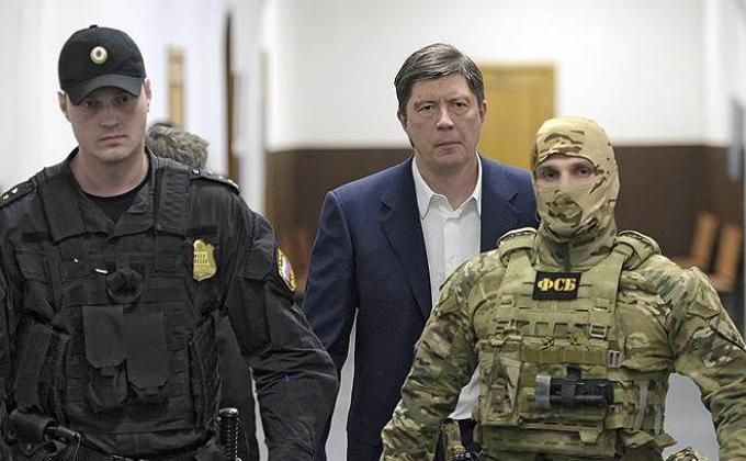 Арестованный Алексей Хотин