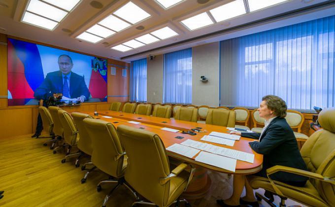 Комарова выходит на диалог с элитами и политическими партиями