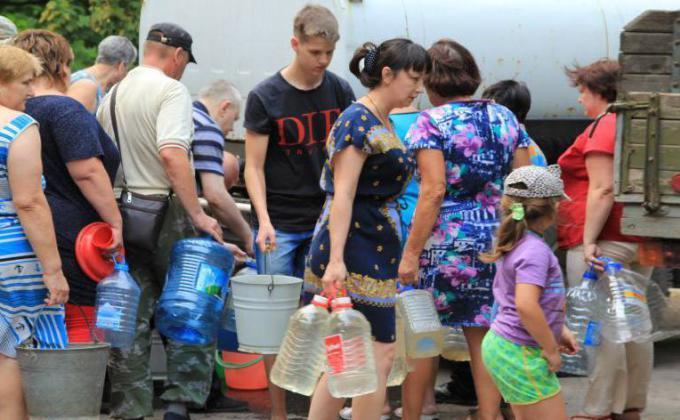 Населению Курганской области отказали в «Чистой воде»