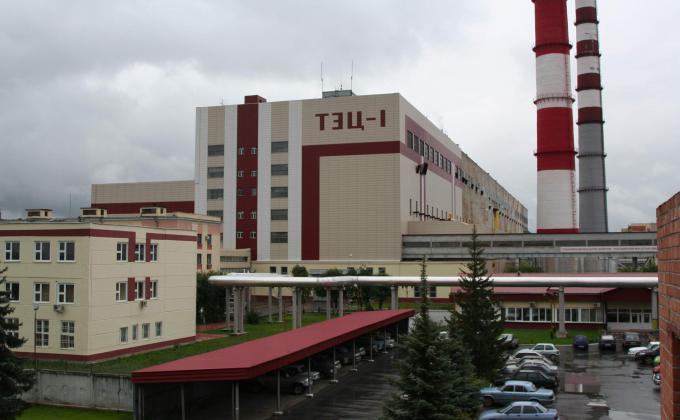 ТЭЦ-1 в Тюмени