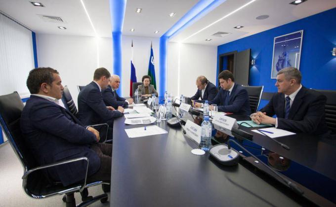 Обсуждение проекта «Индустриальный парк «Югра» в администрации Сургута