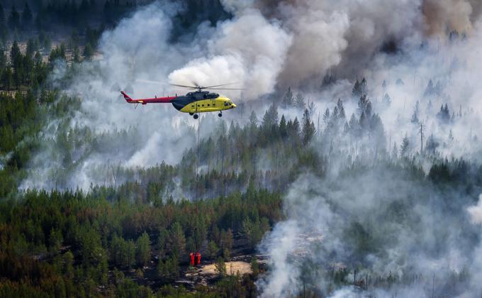 Пожары в ХМАО душат население и сжигают на миллиард