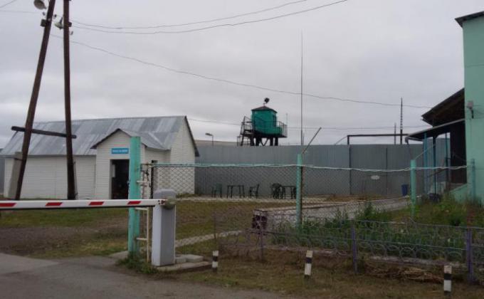 ИК-54 в поселке Новая Ляля