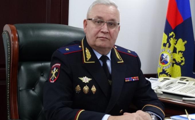 Начальник УМВД по Астраханской области Александр Мешков