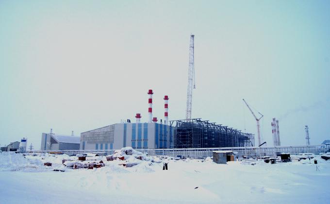 Газотурбинная электростанция 120 МВт «Новоуренгойского газохимического комплекса»