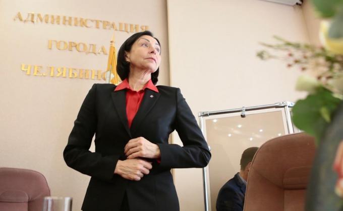 глава Челябинска Наталья Котова