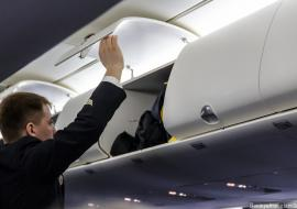 В России вступают новые правила перевозки ручной клади в самолетах
