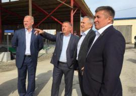 Моор оценил развитие АПК в Сладковском районе