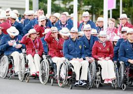 Белорусам запретили нести российский флаг на открытии Паралимпиады в Рио
