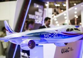 Иркутский завод  представил «лайнер будущего»