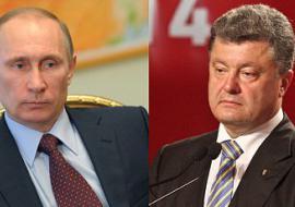 Путин и Порошенко обсудили положение Надежды Савченко