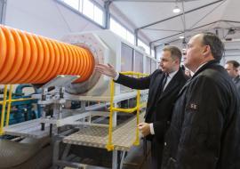 В Свердловской области открылся завод в сфере ЖКХ