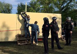 Строители Храма Святой Екатерины демонтируют забор и восстановят сквер в Екатеринбурге