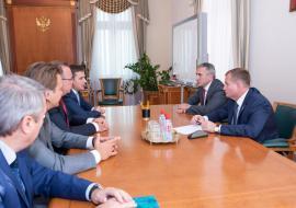 Моор договорился с ВТБ о поддержке малого и среднего бизнеса Тюменской области