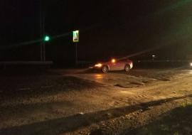 На Челябинском тракте водитель «Вольво» сбил пешехода