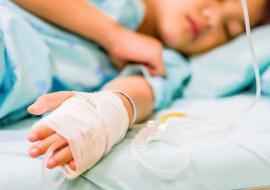 В Курганской области на 26% выросла заболеваемость детей раком