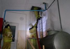 В Свердловской области школу-интернат эвакуировали из-за пожара