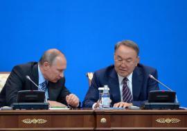 Путин и Назарбаев обсудят людей в Челябинске