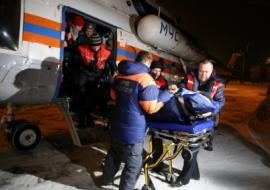 В Екатеринбург доставили замерзавшего туриста с перевала Дятлова