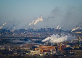 В трех городах Челябинской области объявлен режим «черного неба»