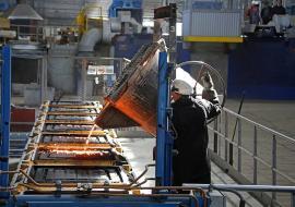 Индекс промпроизводства в Свердловской области за 4 месяца вырос на 6%
