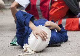 В Курганской области рабочий погиб на стройке из-за обрушения пола