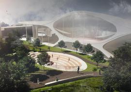 Свердловский Минфин сокращает средства на подготовку к строительству нового зала филармонии в Екатеринбурге