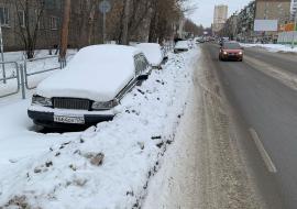 Глава Челябинска поручила ГИБДД убрать брошенные автомобили в центре города