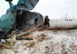 МЧС раскрыло подробности крушения Ми-8 авиакомпании «Скол» в ЯНАО