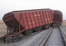 В Златоусте с рельсов сошло 6 вагонов