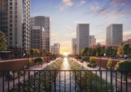 Архитекторы предложили построить в Академическом районе Екатеринбурга амфитеатр и скейт-парк
