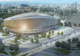 УГМК презентовала проект Ледовой арены, которую построят на месте телебашни