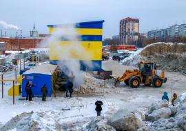 Чиновники Сургута и Тюмени запросили помощь Новосибирска в утилизации снега