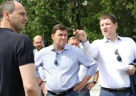 Куйвашев пообещал модернизацию дорожной сети Екатеринбурга к осени