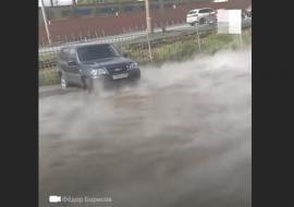 В Челябинске в результате опрессовок залило машины автоцентра