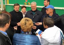 Тюменские депутаты проинспектировали мусоросортировочный завод «ТЭО»