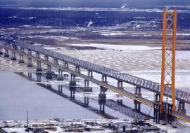 Второй мост через Обь возле Сургута начнут строить только в 2021 году