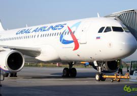 Самолет «Уральских авиалиний» выкатился за пределы посадочной полосы в Кольцово