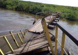 Прокуратура проверит законность сноса пешеходного моста в Ишиме