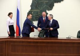Моор и Шумков договорились о расходах на экологические проекты