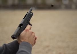 В Челябинске киллер расстрелял мужчину около кладбища
