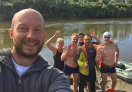Экологическая Экспедиция – заплыв по Тоболу достигла Ялуторовского района