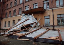 В Нижний Тагил после урагана вернули электричество