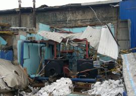 Взрыв разрушил котельную в промзоне Ноябрьска