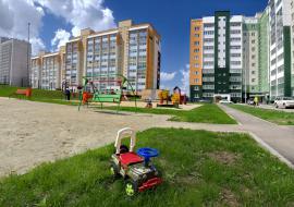 В Челябинске завершилось строительство «президентской» дороги