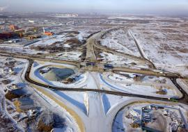 Мэрия Тюмени заплатит 2 миллиарда за реконструкцию дорожной развязки на Мельникайте