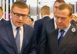 Текслер представил Медведеву инвестпроекты «Чурилово» и «ПО «Маяк»
